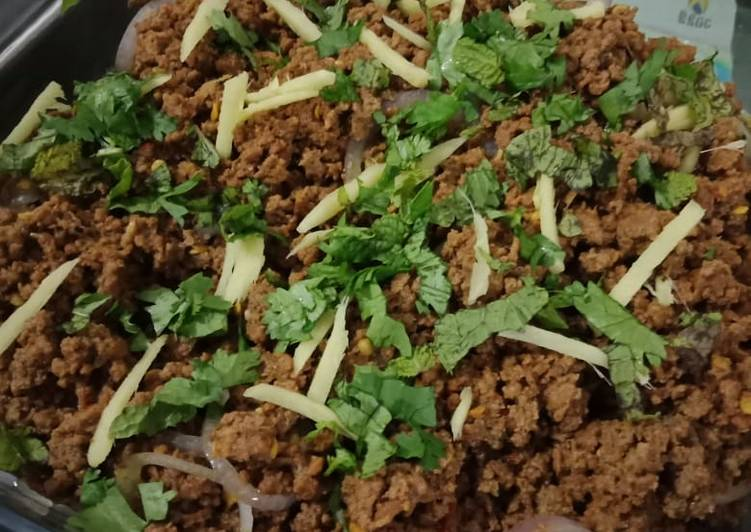 Old Fashioned Dinner Easy Cooking Masala Keema