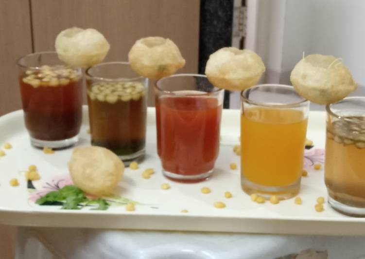 10+ Dinner Easy Vegan Pani Puri Shots !!