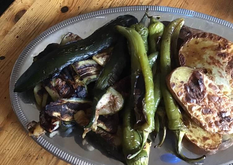recette Légumes grillés au four le délicieux