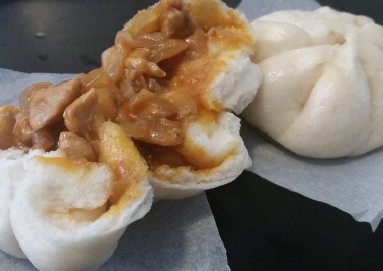 Resep Bakpao isi ayam pedas lembut dan enak Paling dicari