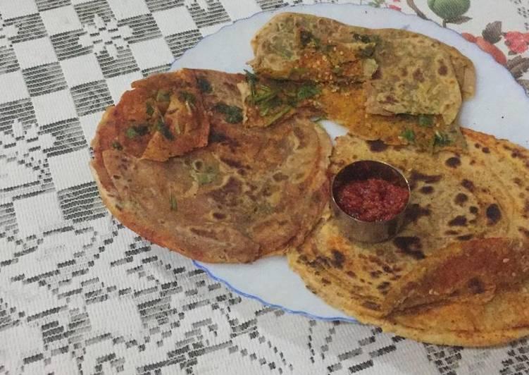 20 Minute Dinner Ideas Blends Masala lachha paratha