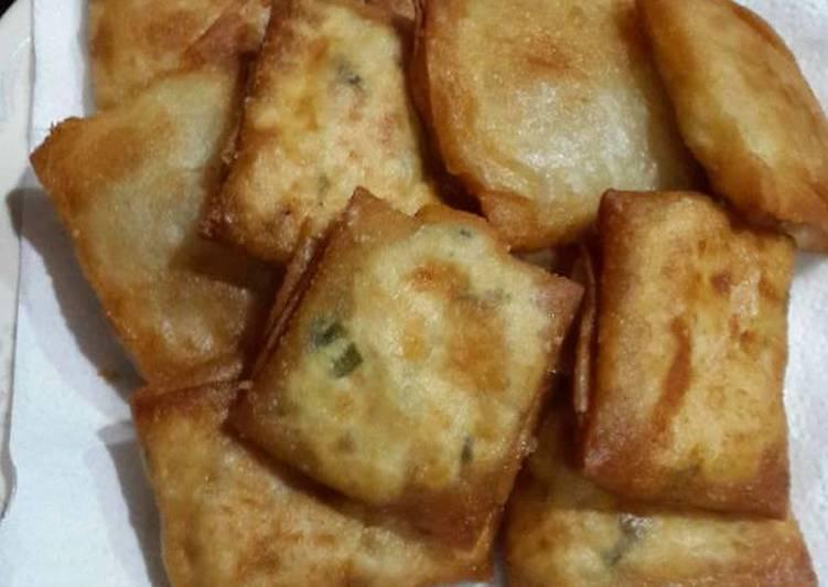 Resep Martabak Tahu Kulit Lumpia Oleh Meycia S Kitchen Cookpad