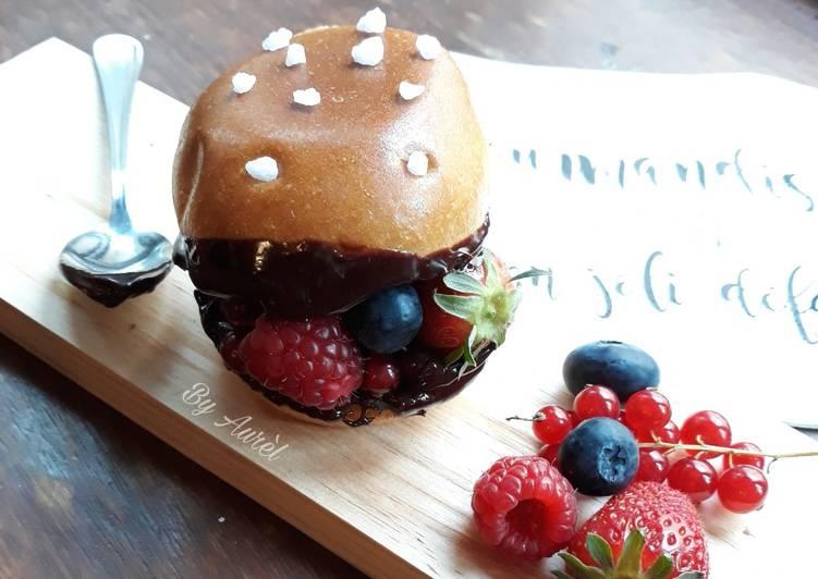 ☆Burger Aux Fruits Rouges☆