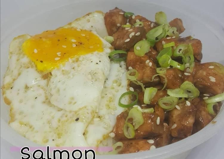 Salmon Rice bowls