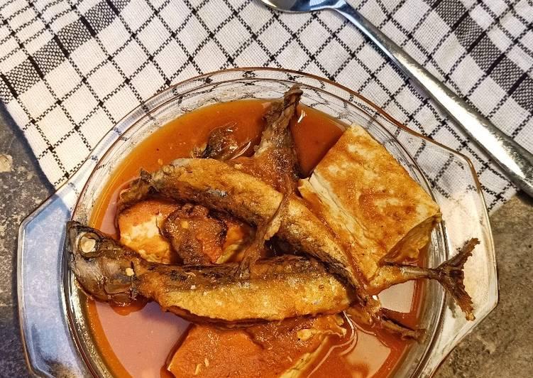 Ikan Pangek Padeh aka asam padeh ikan