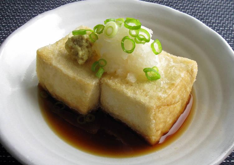 Easiest Way to Make Perfect Agedashi Tofu