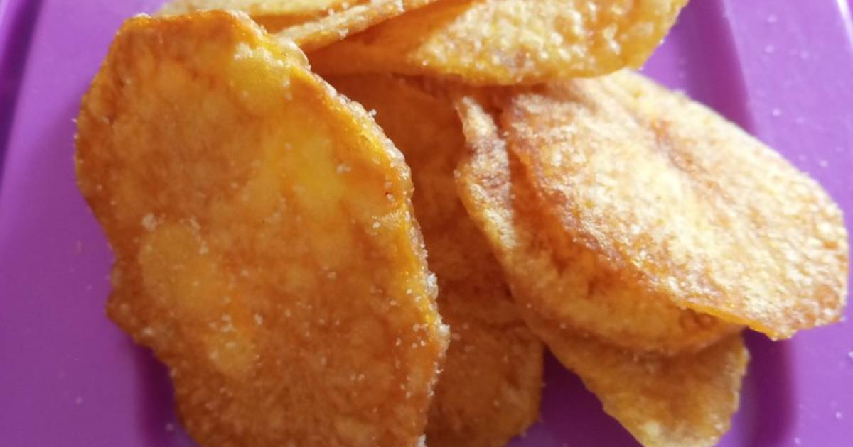resep keripik kentang crispy enak  sederhana cookpad Resepi Ikan Bakar Untuk Bayi Enak dan Mudah