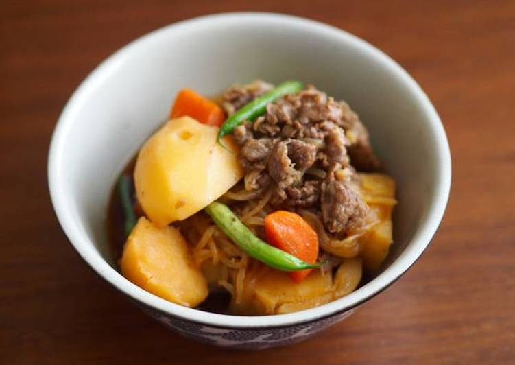 Step-by-Step Guide to Make Perfect NIKUJAGA (Meat and Potato Stew)