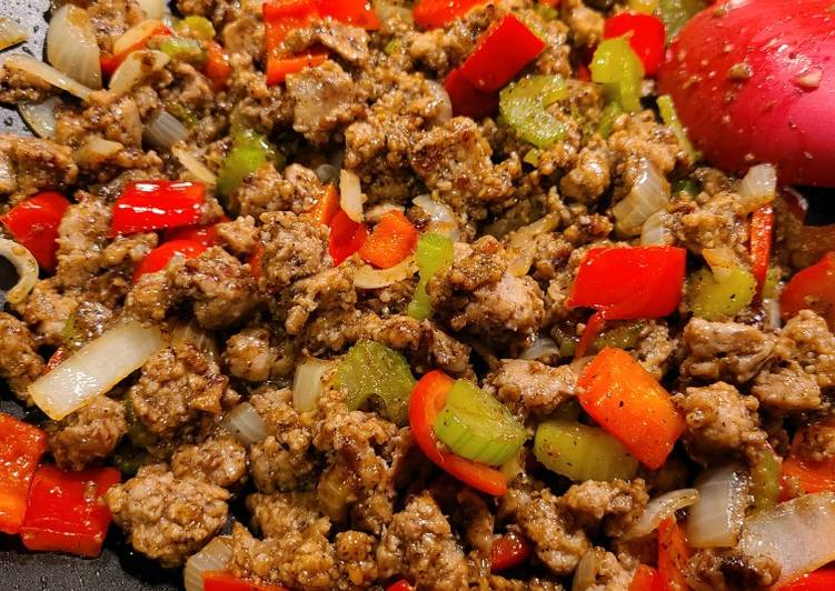 Steps to Prepare Award-winning Easy Black Pepper Turkey Stir-fry