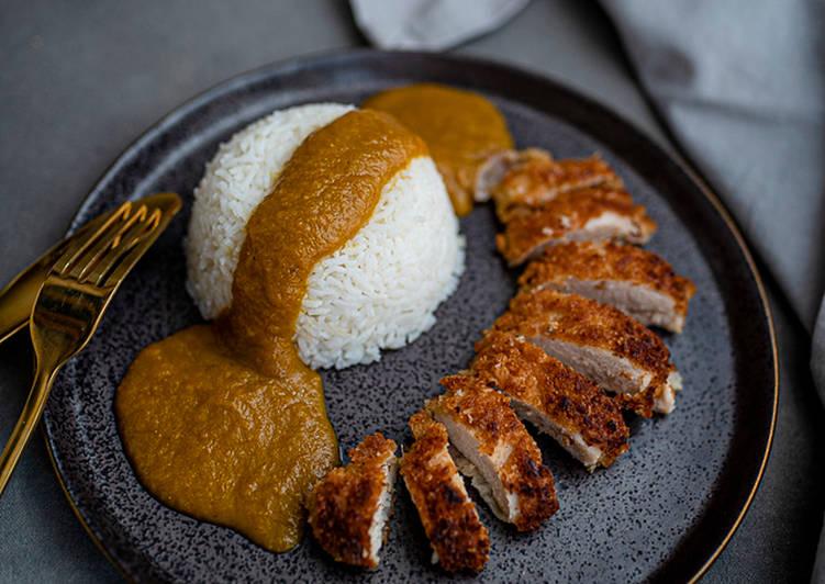 Delicious Chicken Katsu Curry 🇯🇵