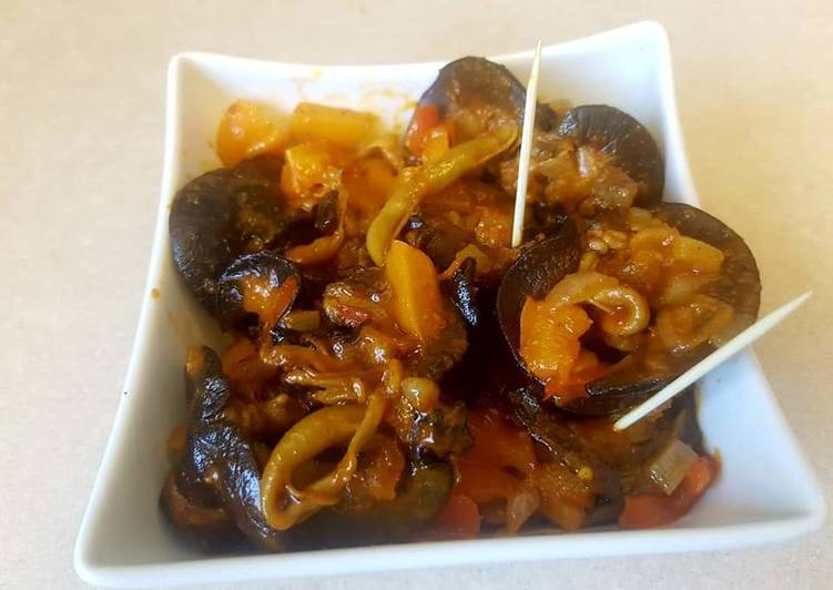 Turn to Food to Boost Your Mood Peppered snail