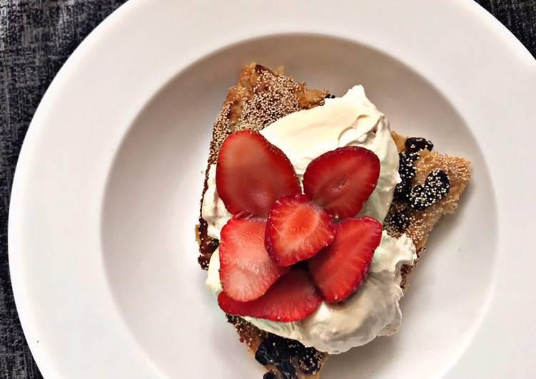 Steps to Make Homemade Bread Pudding