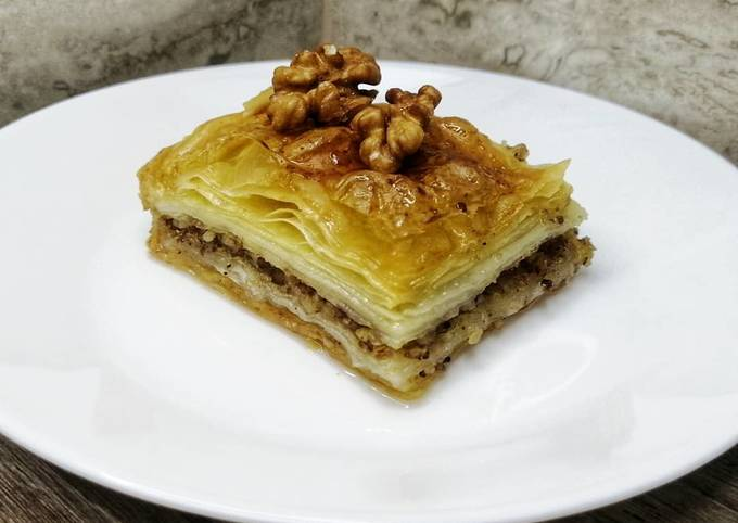 Easiest Way to Make Appetizing Turkish Baklava