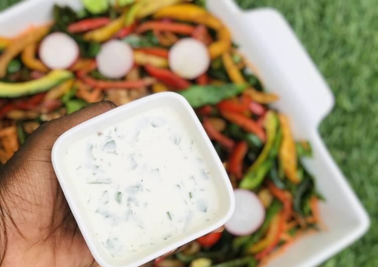 Creamy mayonnaise dressing/dip