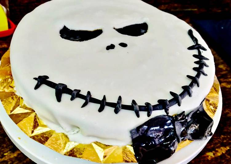 Tarta Jack Skellington 🍰💀 (HALLOWEEN)