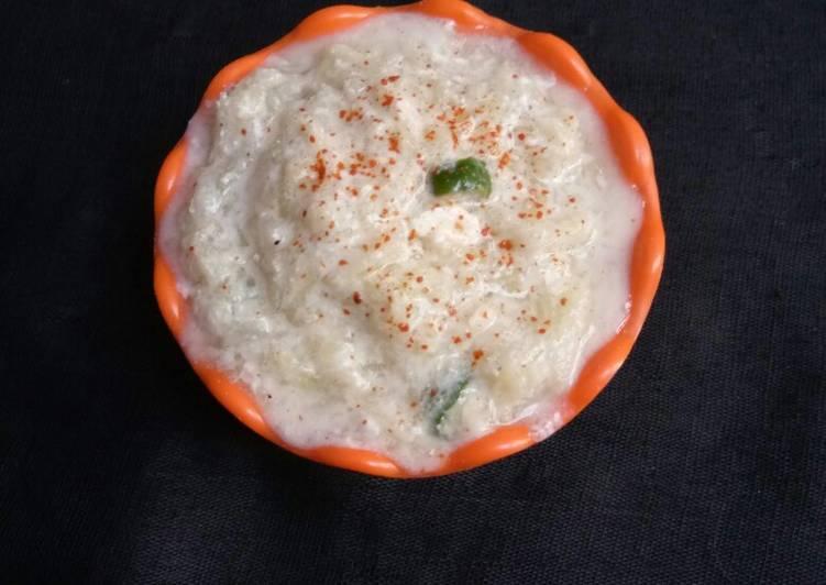 Recipe of Favorite Cucumber Raita