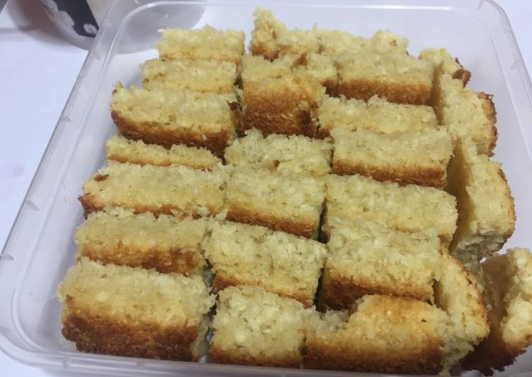 Hearty Comfort Dinner Easy Ultimate Coconut Squares