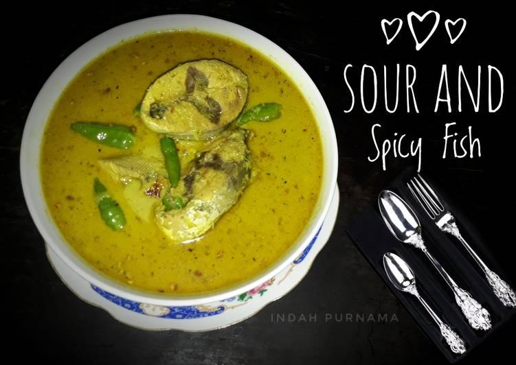 Resep Gulai Ikan Asam Pedas (Sour and Spicy Fish)