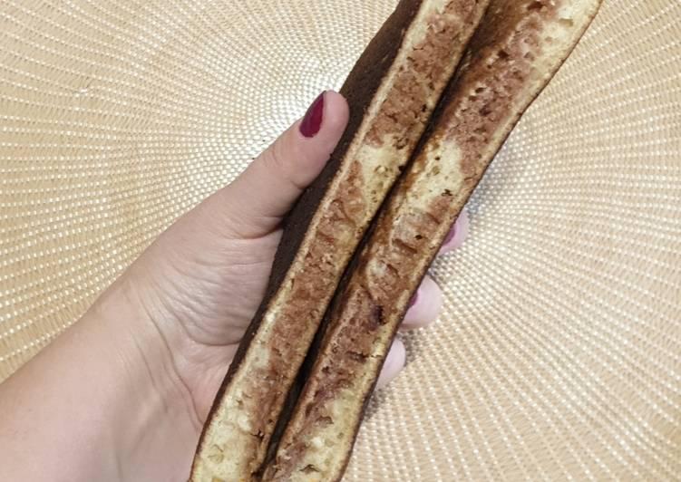 Recette Savoureux Maxi pancake cacao