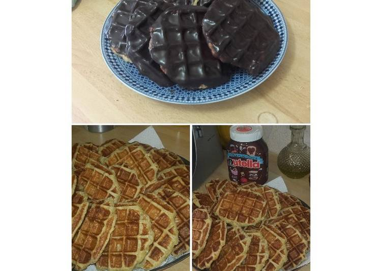 Steps to Make Any-night-of-the-week Gaufre de Liège