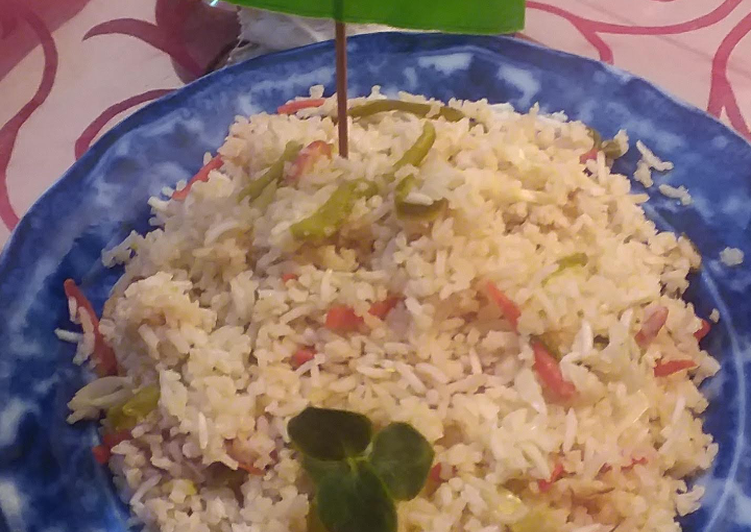 Living Greener for Good Health By Consuming Superfoods Singaporean rice 🍛 #CookpadApp #kobab