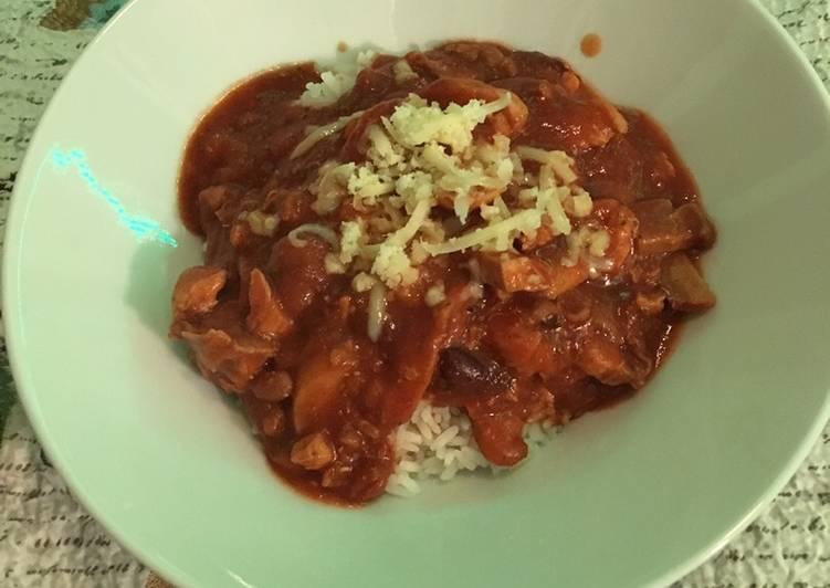Mexican chili chicken