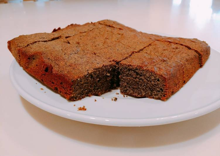 Japanese healthy sesame cake♪1