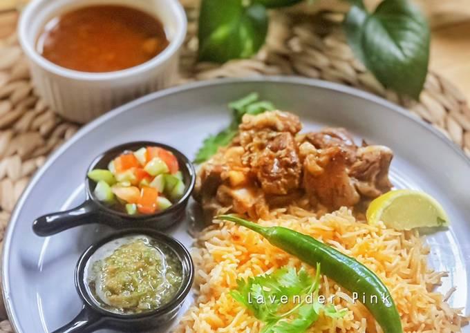 Nasi Arab Kabsah Kambing