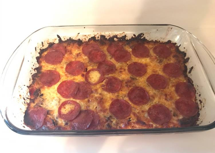 Discover How to Improve Your Mood with Food Pizza Casserole