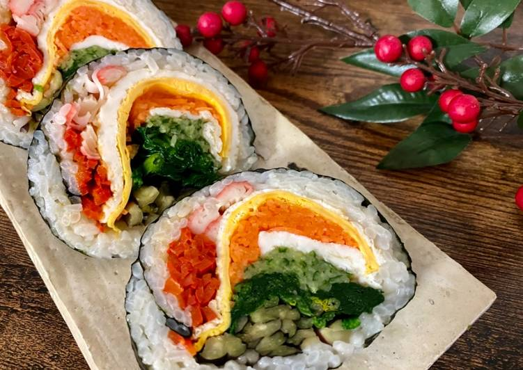25 Minute How to Make Quick Rainbow Roll Sushi