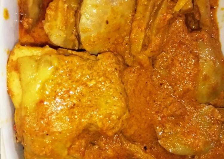 Gulai Jengkol Ayam