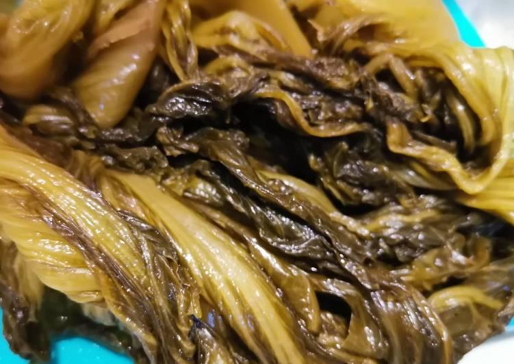 Bikin asinan sawi asin (ham choy/ kiam chai) homemade murmer