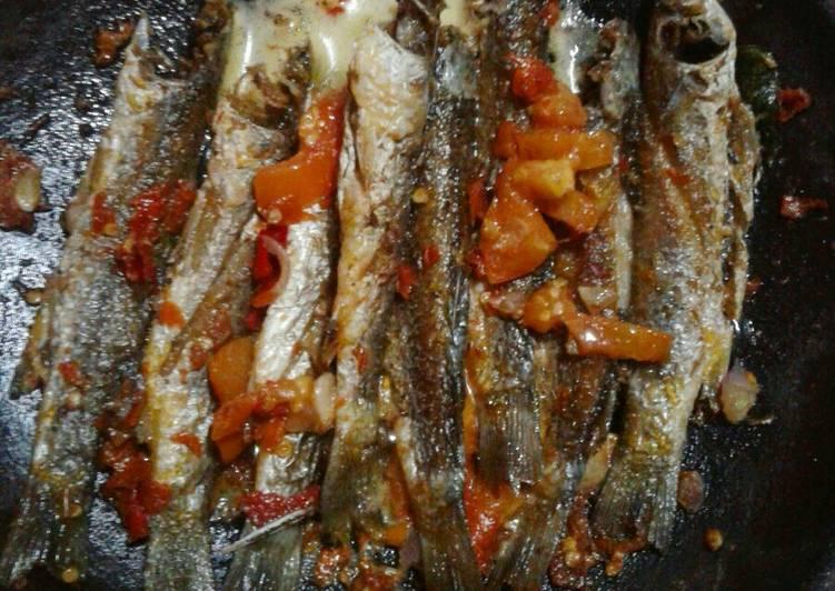Sambel Gami Ikan Belanak