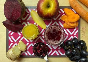 Easiest Way to Prepare Perfect Red bloody detox juice