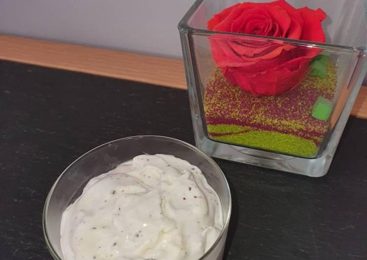 Glace noix de coco Stracciatella à la sorbetière (1,5l)