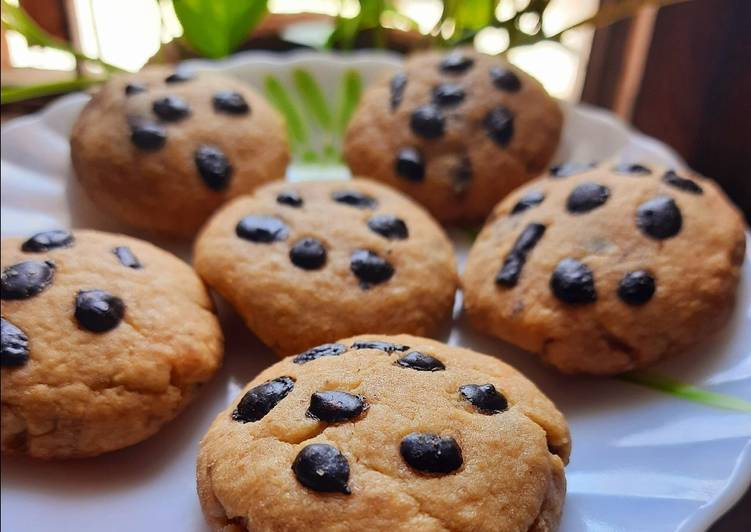 Choco filled cookies