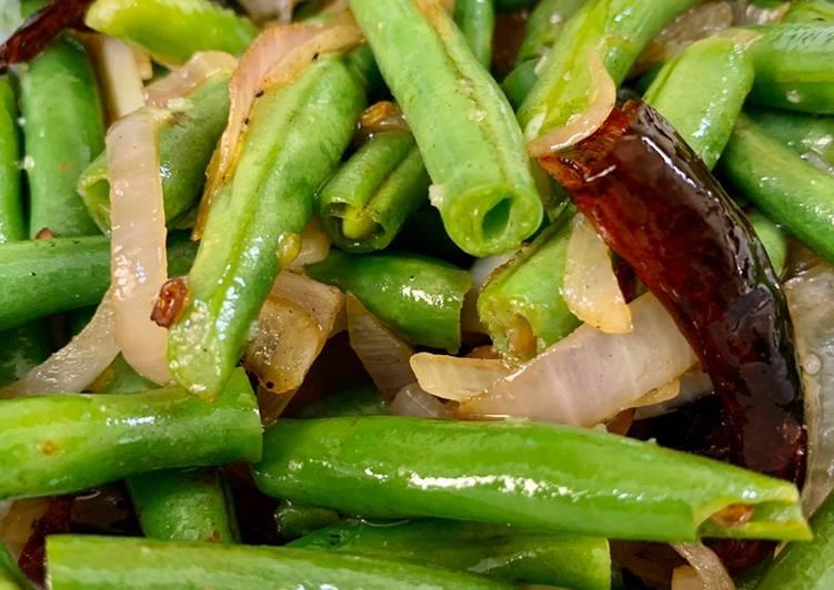 Stir Fried French Beans