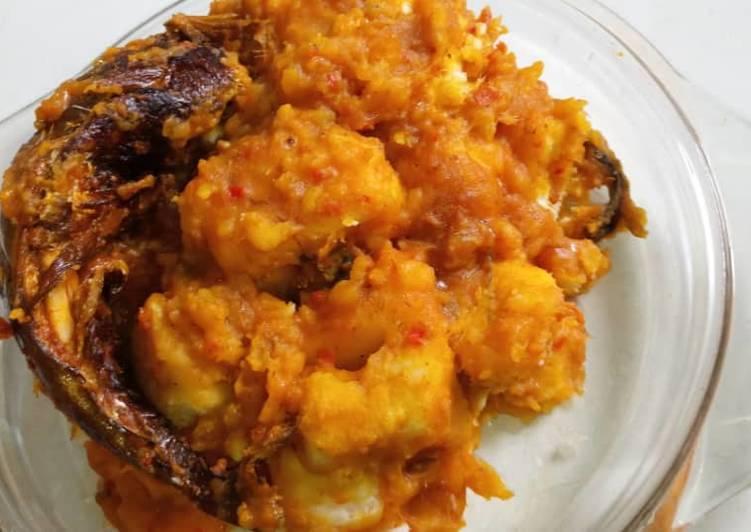 Yam porridge (my style)