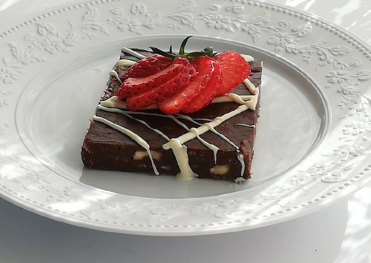 Gâteau gourmand sans cuisson
