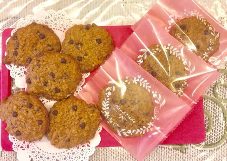 Langkah Mudah untuk Membuat Soft and Chewy Oatmeal Chocolate Chip Cookies Anti Gagal