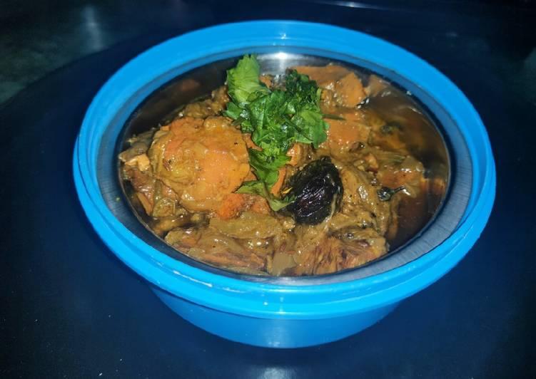 Recipe of Top-Rated Kathal do pyaza.