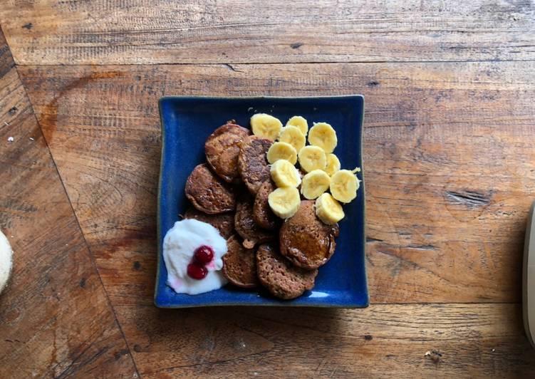 Easiest Way to Prepare Perfect Cinnamon pancakes on coconut whey
