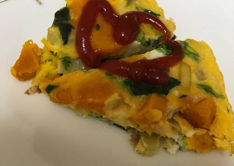 Recipe: Appetizing Vegetable omlet