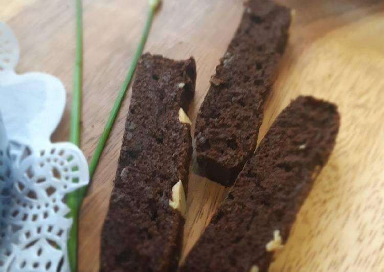 Brownie cookie magic