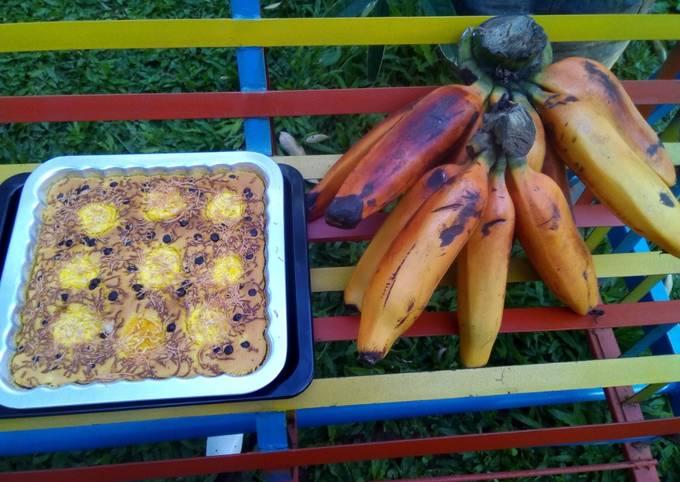 Banana cake choco chips - pisang tongak langit
