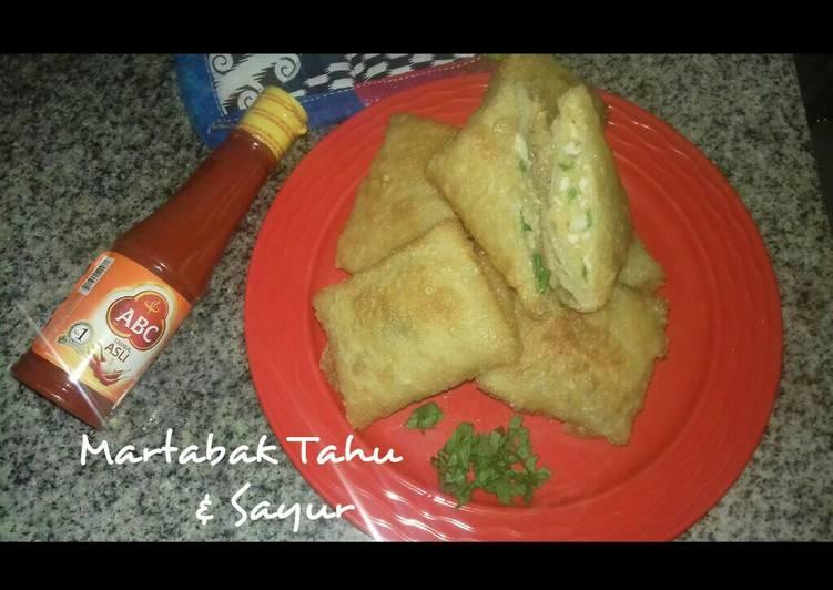 Martabak Tahu & Sayur