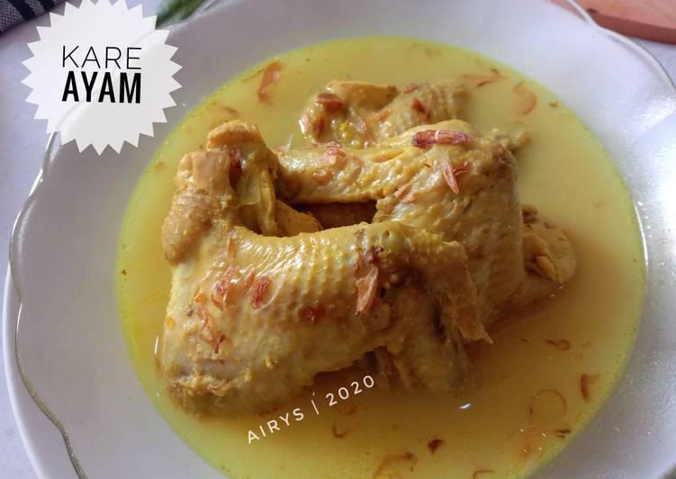Resep Kare Ayam yang Bisa Manjain Lidah