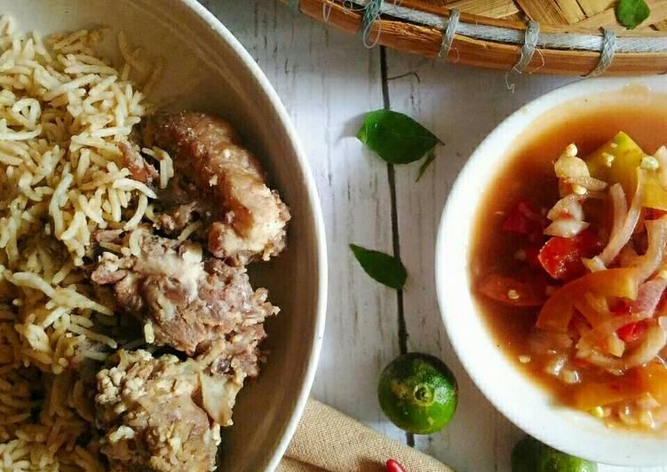 Nasi daging air asam - resepipouler.com