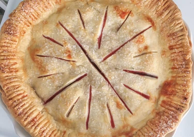 Recipe: Delicious Butter Pie Crust (2 Crusts)