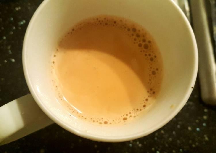 Recipe of Favorite Herbal Milk Tea ☺�